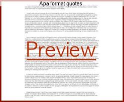 Apa Format Quotes New Apa Format Quotes Essay Academic Service