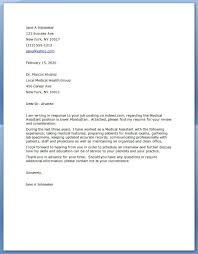 63 Cover Letter Examples For Medical Assistant Cover Letter