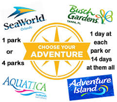busch gardens deals. SeaWorld And Its Sister Parks Busch Gardens, Aquatica \u0026 Adventure Island Gardens Deals