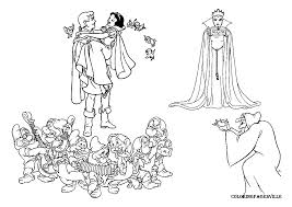 Snow White Coloring Pages Gif 1169