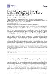 Aisi Shear Wall Design Guide Pdf Seismic Failure Mechanism Of Reinforced Cold Formed