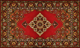Red Oriental Carpet Texture Background Stock Image Image of east