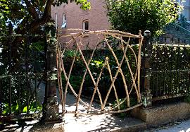garden gates and fences. Garden Gate In Chicago Made From Twigs Trees.png Gates And Fences