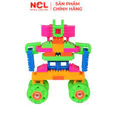 Bộ xếp hình sáng tạo Nhựa Chợ Lớn 13 - M1020-LR - Lắp ghép, Xếp hình