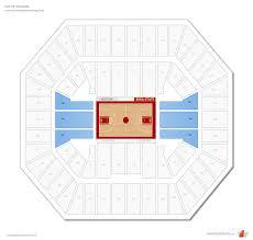 Iowa State Basketball Arena Seating Chart Hilton Coliseum Iowa State Seating Guide Rateyourseats Com