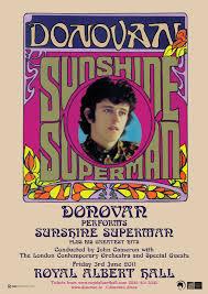Donovan to Perform Sunshine Superman at The Royal Albert Hall