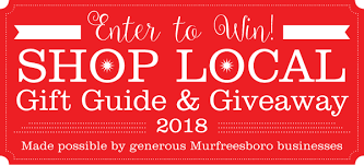 2018 murfreesboro pulse local gift guide and giveaway