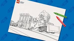 Coloring Pages Lego City Legocom Us