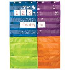 Magnetic Connecting Pocket Charts Set Of 4 New Teacher