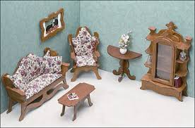 Where to find dollhouse furniture Barbie Living Room Furniture Kit Greenleaf Dollhouses Dollhouse Furniture Kits Greenleaf Dollhouses