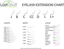 Fake Eyelash Size Chart Size Chart In 2019 Eyelash Extensions Eyelash Extensions