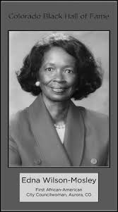 Edna Wilson-Mosley, First African-American City Councilwoman ...