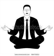 meditation businessman office. business man sitting in the padmasana lotus pose office worker meditating relaxing or doing meditation businessman i