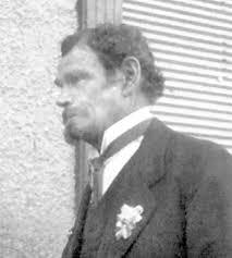 Der Altöttinger Hausierer Peter Hartl (auf dem Foto rechts mit 68 Jahren) soll Ludwig II. in jungen Jahren täuschend ähnlich gesehen haben. - Copy-of-scan-Bearb