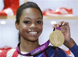 floor gymnastics gabby. U.S. Gymnast Gabby Douglas, 16, Poses With Her Gold Medal During A News Conference At The 2012 London Olympic Games August 8, 2012. REUTERS/Luke MacGregor Floor Gymnastics
