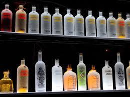 Floating Bar Shelves With Lights Led Floating Bar Shelf Bar Shelves Bars For Home Bottle