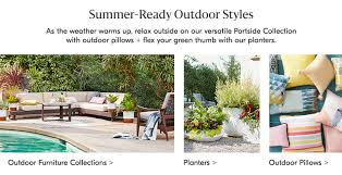 west elm outdoor furniture. Summer-Ready Outdoor Styles West Elm Furniture