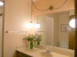 lighting for bathroom mirrors. Simple How To Replace A Bathroom Light Fixture Howtos DIY Lighting For Mirrors