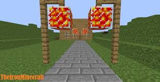 minecraft pc how to make a lava lamps
