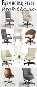 farmhouse desk chair. Plain Desk Farmhouse Style Desk Chairs  Style Desks And Tufted Desk Chair And Chair E