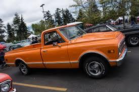 Street Feature: Joel And Sharron's Orange Beauty 1968 Chevy C10