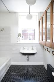 black bathroom floor home decoration tile 2