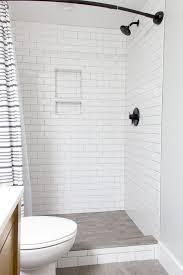 modern bathroom subway tile. Modern Bathroom With Subway Tile