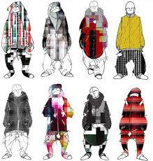 Clothing Design Ideas pixelated clothes fashion design