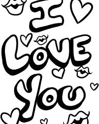 Small Picture I Love You Coloring Pages at Coloring Book Online