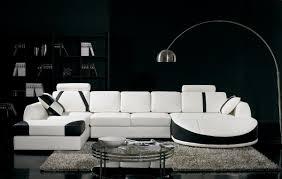 Awesome design black white Gray Black White Sectional Sofa Set Residence Style Black And White Living Room Interior Design Ideas