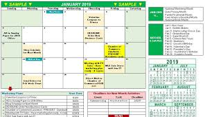 2019 Marketing Calendar Template In Excel Free Download