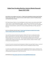 Vending Machine Depth Unique Food Vending Machine Market Manufacturing And Industrial Productivity