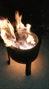 the flame genie pellet fire pit