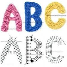 Crochet Letters Patterns Stunning 48 Best Crochet Letters Images On Pinterest Crochet Letters