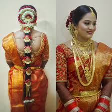 south indian style bridal makeup