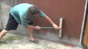 painting concrete wallsPainting Cement Walls With Clay Slip Part 1 of 2  YouTube