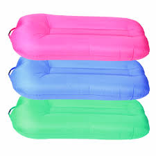 new air sofa bag inflatable lounger beach bed lazy chair camping sleeping hiking