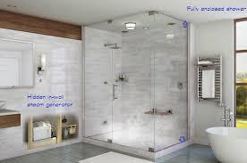 Mesmerizing Enclosed Showers Units Images Design Inspiration