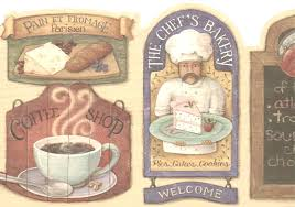 country wallpaper borders on antique kitchen coffee plus border wall