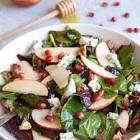 apple  chicken and stilton salad