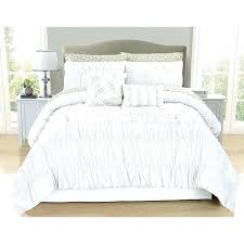 grey ruched bedding sets white comforter set large size of piece ruffle twin next ruched grey bedding