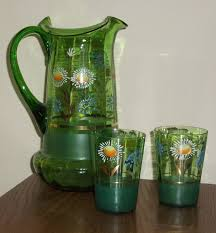 i now have the painting and the water pitcher set i painted it alla prima from a stillife set up photo of water pitcher set is below ccwelcome yn