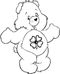Small Picture Care bears coloring pages good luck bear ColoringStar