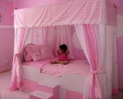 Little Girls Canopy Beds Girl Bed Brilliant Best Princess Ideas On ...