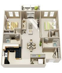 Two Bedroom Apartments In London Set Plans
