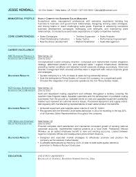 Sample Sales Resume Marketing Executive Examples Manag Sevte