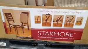 wood folding chairs costco. Contemporary Chairs Stakmore Folding Chair From Folded To Open In Three Easy Steps Inside Wood Chairs Costco M