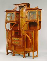 cabinet vitrine art deco furniture cabinet