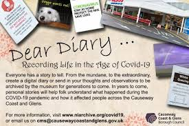 '<b>Dear Diary</b>' project launched by Causeway Coast and Glens ...