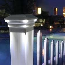 post cap lighting led lighting post caps for railings fences and decks paradise garden lighting solar